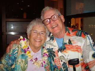 Barb and Mac Storm in Hawaii.